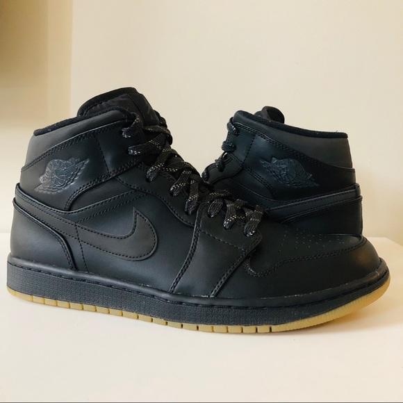 Air Jordan Mid Winterized Black Gum